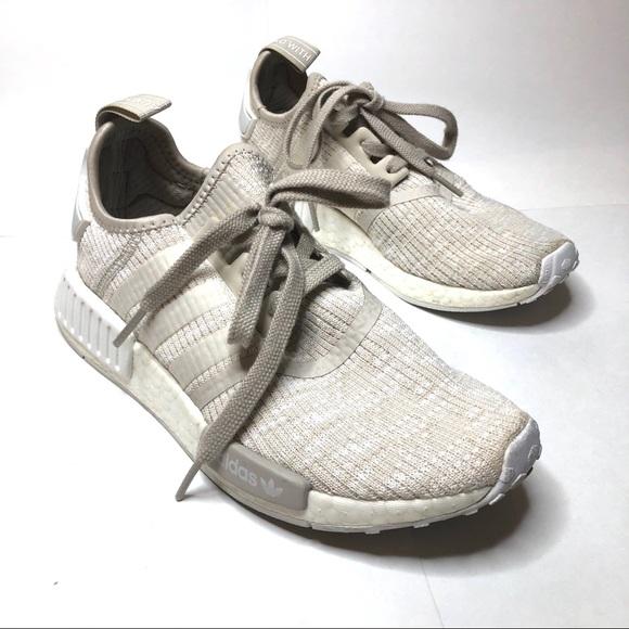 Adidas NMD R1 PK Roller Knit Cream Shoes CG2999
